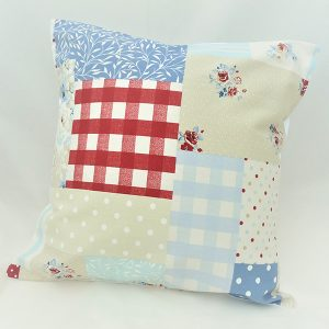 Vintage Patchwork Cushion