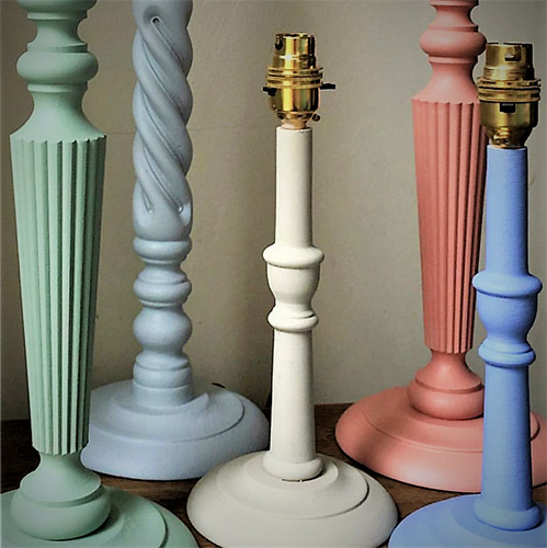 Colour Selection of Lamp Bases by CountryShades
