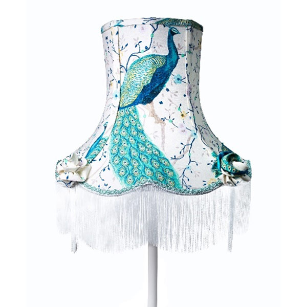 Peacock Floor Lamp