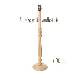 Lamp Base - Empire with candlestick