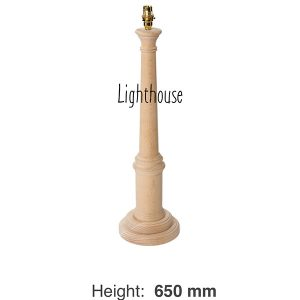 Lamp Base - Lighthouse